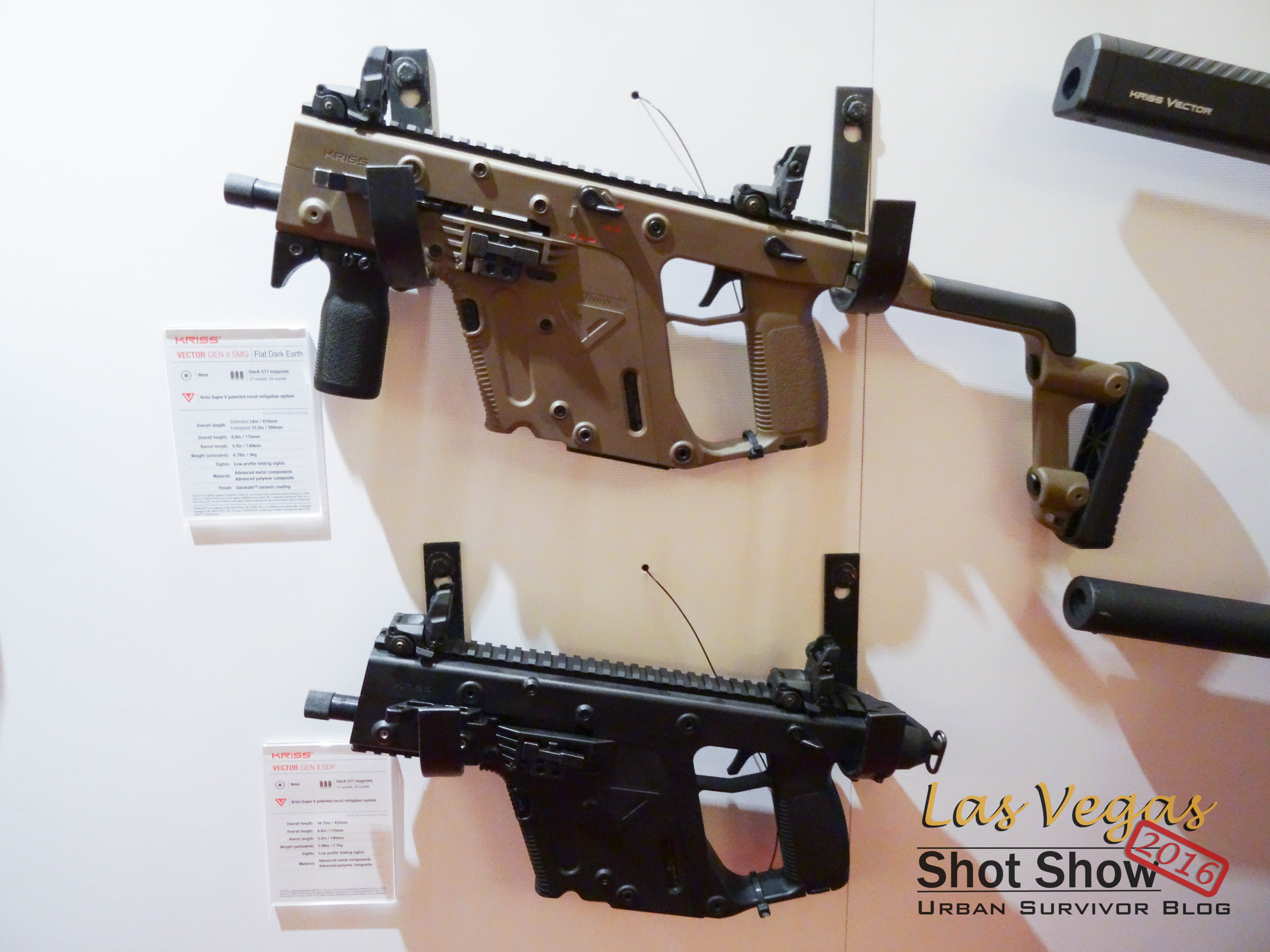 ShotShow2016: KRISS USA - Urban Survivor Blog